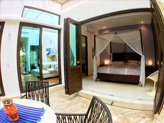 TE2 Gorgeous Home with Pool, Beach Club, Gym, Yoga, Akumal