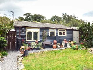 TY NI, detached, log cabin, woodburner, private garden, pet-friendly, nr, Caernarfon