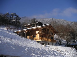 Beautiful ski chalet St Jean d'Aulps with great views