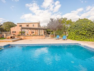 beautiful country house with pool in Calas de Mallorca, in the east of Mallorca, Son Macia