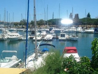 Cap d'Agde holiday gite sleeps 4 overlooking Marina, Cap-d'Agde