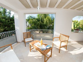 Casa Bianca in Salento - near sandy beach! Relazing patio