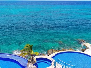 Casa Da Ja View in Cozumel, incredible ocean views located downtown Oceanfront