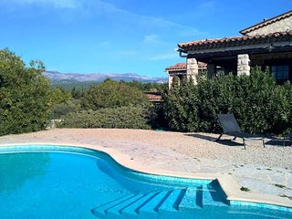 Callian holiday villa Cote d'Azur with private pool sleeps 8