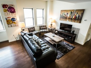 Delightful East Chesnut Street Apartment by Stay Alfred, Filadelfia