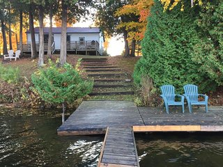 Fee's Landing Resort, Cottage D 3BDRM waterfront, Omemee