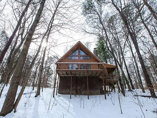 Secluded Cozy Hocking Hills Cabin With Loft, South Bloomingville