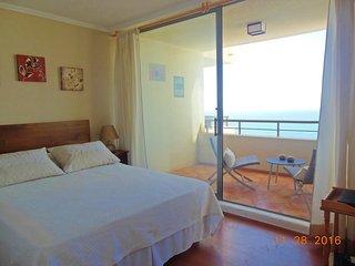 Hermoso departamento, vista al mar, Reñaca