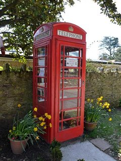 Thurlestone book exchange in the red phone box
