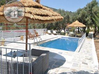 Villa Karababa, Ciudad de Skiathos
