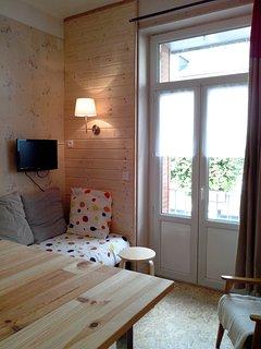 Séjour / chambre 2 lits simples