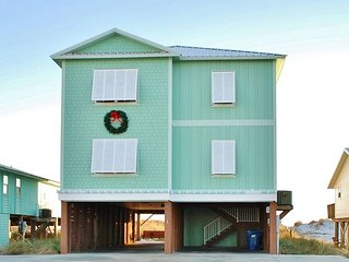 Must See Inside! 'Mar Tortuga' Gorgeous Beachfront Home, Gulf Shores