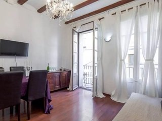 Apartment with two doble bedrooms next to Pla de Palau (El Born, Barcelona)