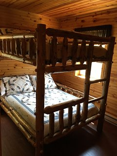 Full-Over-Full Bunk Beds in Bedroom #2