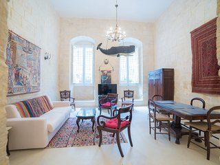 Spacious 1BR apart w/ private garden (ref: HT1), Valletta