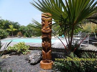Villa Tiki Reva : classée 4*, moderne et exotique ! Réservez vite !
