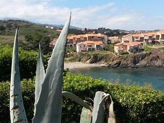 Villa vue superbe sur la mer à 100 m de la plage