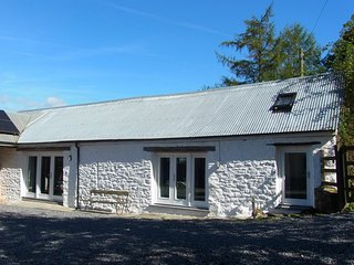 Rhiwiau, self catering, Brechfa forest, new barn conversion, sleeps  5