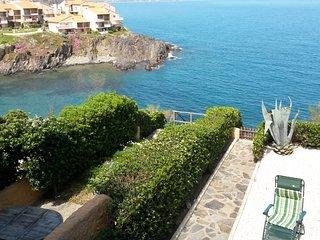 Villa vue superbe sur la mer à 100 m de la plage, Port-Vendres
