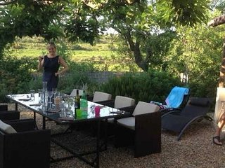 Masette de Bazin gite rentals in South of France with private pool sleeps 6
