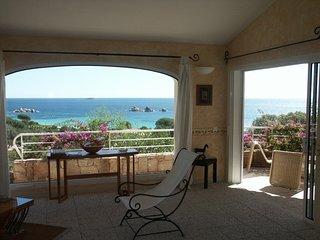 La vue mer depuis le salon