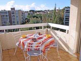 Bel appartement 3 pieces 4/5 pers - Climatisation - Centre Ville - Sainte Maxime
