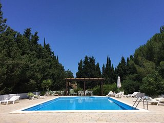 Puglia Country estate. Valle d'Itria.  Private pool and 2 ha. rolling  grounds.