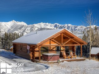 Moonlight Basin Lodging | Cowboy Heaven Cabin 82 Cowboy Heaven