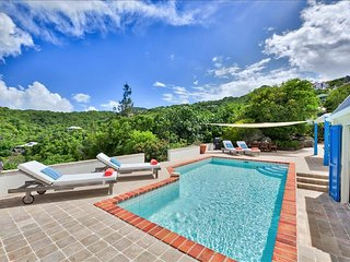 2-bedroom villa nestled on St. Barths Hillside, St. Jean