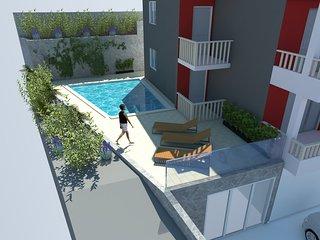 Villa Bakota - Private 28m2 pool, 4 bedrooms, panoramic sea view, Omis