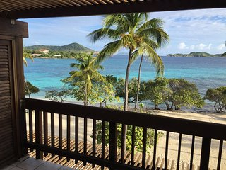 Beachfront 2-story Penthouse at Sapphire Beach St. Thomas US Virgin Islands, Red Hook