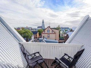 Reykjavik city centre penthouse
