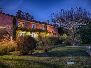Mas des Couleurs, tennis court, private pool, AC, 5 bedrooms