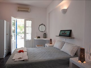 Studio with wonderful sea view, Aliki