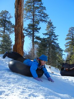 Granddaughter Tubing