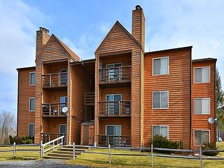 """Black Bear Den""  condo sits at the foot of the ski lift., Davis"