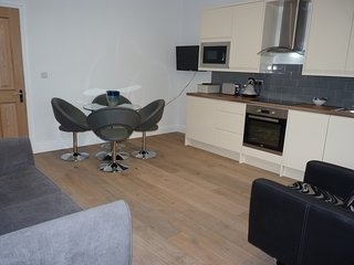 Sleek and exclusive central apartment, Eastbourne