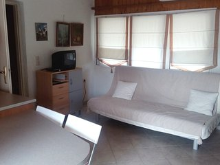 Apartments with panoramic sea views 250m. from the  sandy beach in Saronida.