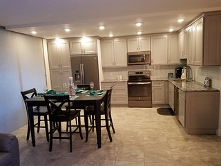 All new kitchen including furniture , cookware, dishware appliances etc.