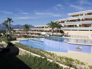 Altea, TopFloor Apartment, great terrace, 2 bedr, 2 bathr, pool, airco, wifi, 4p