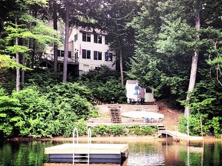 God's Country, Rejuvenate on a Beautiful and Secluded Lake in New Hampshire
