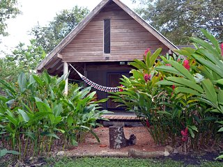 Hummingbird Rest a fully equipped self catering chalet set in tropical gardens