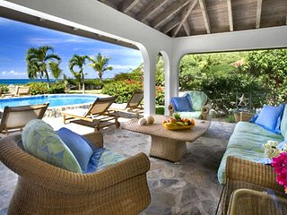 A Villa On The Beach 4 Bedroom SPECIAL OFFER, Virgin Gorda