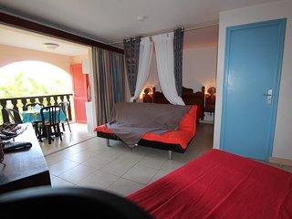 Studio La Trace des Caps TT confort bord de mer Sainte Anne Martinique, Sainte-Anne