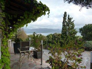 Studio vue panoramique sur le golfe du Valinco