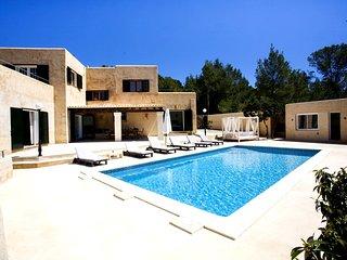1006 Magnifica villa en la parte alta de San José con máxima privacidad, Sant Josep de Sa Talaia