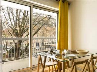 Fully renovated flat steps from the central Place de la Republique!