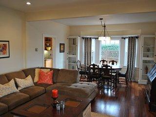 Furnished 3-Bedroom Duplex at S B St & 10th Ave San Mateo