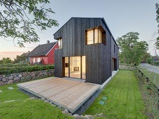 Haus WIECKin - modernes Ferienhaus an der Ostsee mit Sauna und Kamin mieten, Wieck