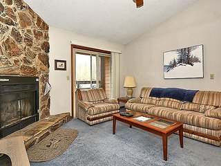 HWC301 Cozy condo sits at the foot of the ski lift, steps away from lodge